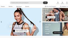 A screenshot of The Warehouse Group's new business TheMarket. Photo / Screenshot