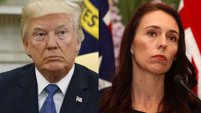 Jacinda Ardern has joined other world leaders in condemning Donald Trump's latest comments. (Photo / File)