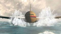 Animation shows how Flight MH370 may have crashed. (Photo / Channel 9)