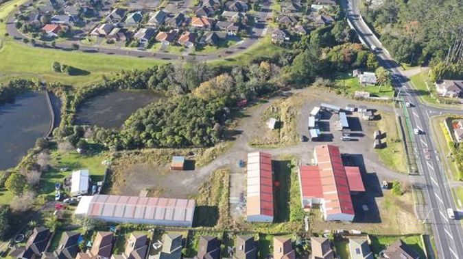 The Munroe Rd site at Ranui, now for sale. (Photo / James Law Realty)