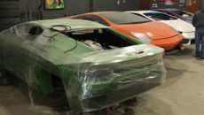 Fake Ferraris and 'Shamborghinis' uncovered at Brazilian factory