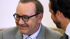 Kevin Spacey during a pretrial hearing at district court in Nantucket, Massachussetts. Photo / AP