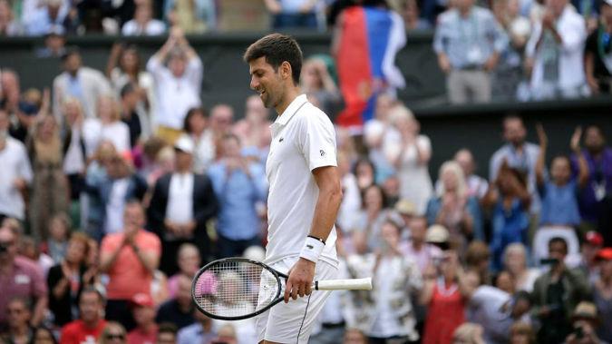 Novak Djokovic has finally snapped at Nick Kyrgios. (Photo / AP)