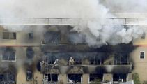 13 believed dead after suspected arson at anime studio