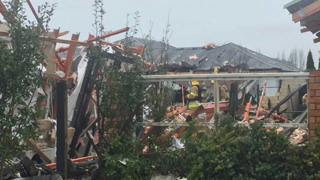 Neighbours shocked by Christchurch gas explosion