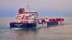 The Stena Impero oil tanker has been seized by Iranian authorities while passing through the Strait of Hormuz. Photo / Supplied