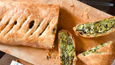 Nici Wickes: Green cheesy pie