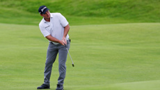 Ryan Fox after making the cut in the Open Championship