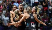 The Silver Ferns celebrate winning the Netball World Cup. (Photo /Getty)
