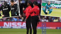 Umpire Kumar Dharmasena has admitted to getting a crucial decision wrong in the World Cup final. Photos / Getty Images
