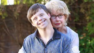 Tim Fairhall (left) and his mother Joan have won a change in KiwiSaver rules for people with life-shortening conditions. (Photo / File)