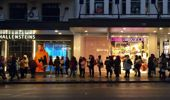 More than 800 people queued, the most hardy overnight, before Sephora's New Zealand launch this morning. Photo / Cherie Howie