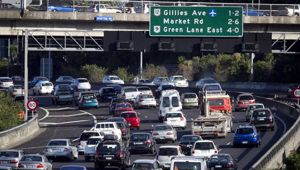 Barney Irvine told Mike Hosking that we could see 250,000 on the road in the next decade. (Photo / NZ Herald)