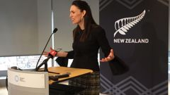 Broadcaster and commentator Gemma Tognini has criticised Jacinda Ardern for flaunting her 'moral posture' during a visit to Australia this week. (Video / Sky News)