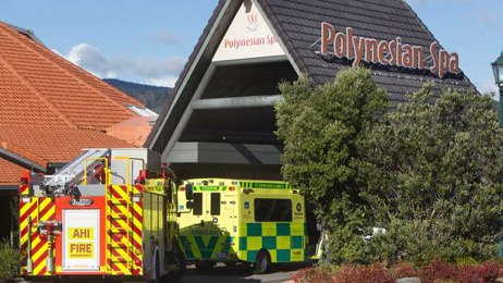 Polynesian Spa staff member saw drowned man's body submerged but didn't immediately seek help