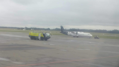 Emergency crews on standby at Christchurch Airport