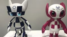 Tokyo Olympic's unveil robots that will assist during next year's event