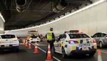 Test drive disaster? $290k Ferrari in tunnel crash