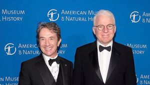 Martin Short (L) and Steve Martin are coming to Auckland's Spark Arena on November 19. Photo / Getty Images.