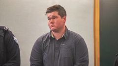 Fraser Milne was jailed for two years and six months for his road rage attack. (Photo / Peter Meecham)