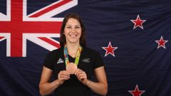 Pole vaulter Eliza McCartney claimed a bronze medal at the 2016 Olympic Games in Brazil. Photo / Getty Images