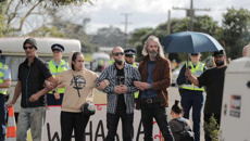 Ihumātao protest: Dogs pepper-sprayed as more people arrested