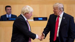 Donald Trump says that Johnson will be a good Prime Minister. (Photo / Getty)