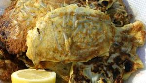 simon remembers his love of 'mock' white bait fritters