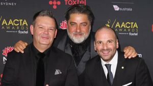 Masterchef judges Gary Mehigan, Matt Preston and George Calombaris. (Photo / Getty)