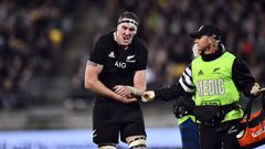 Retallick may have to be sidelined for three to six months. (Photo / NZ Herald)
