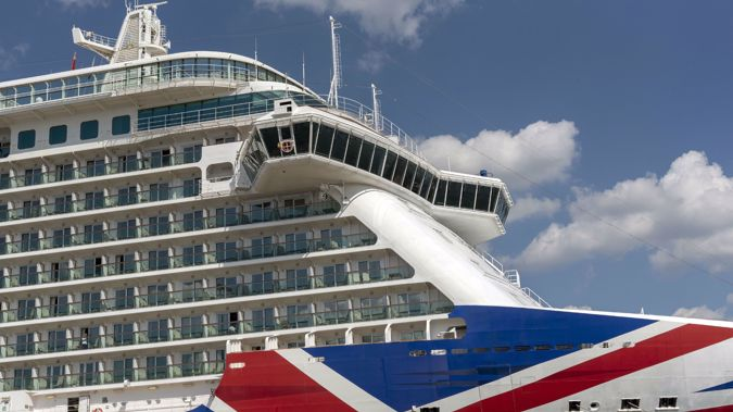 Britannia cruise ship berthed in the Port of Southampton UK P&O company. (Photo / Getty_