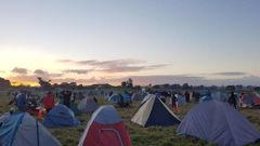 A number of amenities are available at the site. (Photo / RNZ - Jordan Bond)