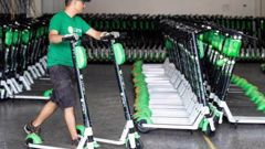 A Christchurch man is accused of stealing 50 Lime scooters.