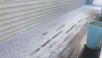 'Almost like snow': Big chill, hailstorm hits Auckland
