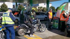 BP gives gang prospect free petrol despite police suspending licence in forecourt