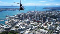 Privacy and recreation effects 'have to be considered' for helicopter flights, new guidelines propose. (Photo / NZ Herald)