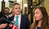 James Shaw and Marama Davidson: two leaders, two strands. (Photo / NZ Herald)