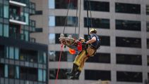 Auckland construction worker seriously injured by piece of falling clay