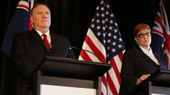 US Secretary of State Mike Pompeo has met with Australian Foreign Minister Marise Payne. (Photo / Getty)