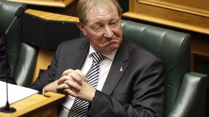 Nick Smith was kicked out of Parliament several months ago. (Photo / NZ Herald)