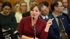 Julie Anne Genter will have to live with the legacy of bring the capital to a halt. (Photo / NZ Herald)