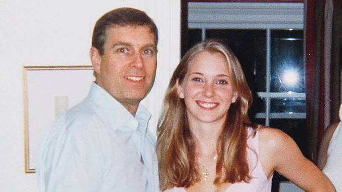 Prince Andrew with Virginia Roberts, who alleges she slept with him aged 17. Photo / Supplied