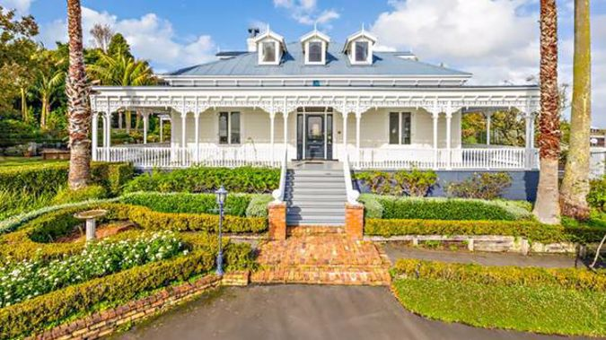 The 1905 colonial home has no heritage protection and could be bulldozed without resource consent. Photo / Supplied.