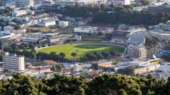 Last month a campaign was launched to rename the cricket ground the Support Women's Sport Basin Reserve. (Photo / NZ Herald)