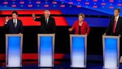 Pete Buttigieg, Elizabeth Warren, Bernie Sanders and Beto O'Rourke are amongst those calling for legislation. (Photo / Getty)
