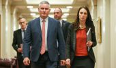 Jacinda Ardern and Kelvin Davis are citing a loophole in the law that doesn't seem to be there. (Photo / Getty)