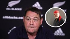 Peter FitzSimons believes Steve Hansen has 'lost confidence in his team.' Photo / Getty