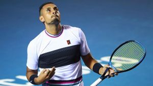 Nick Kyrgios. Photo / Getty Images