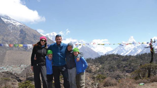 Adventurer Mike Allsop on why he takes his family with him