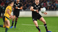 Beauden Barrett: Such a good feeling keeping hold of the Bledisloe Cup
